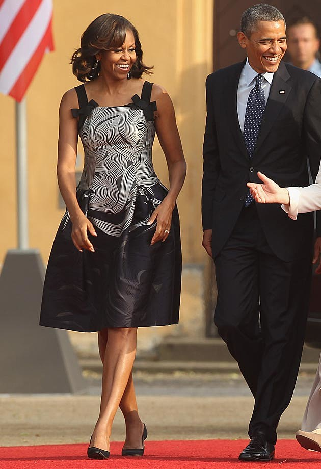 Michelle Obama Carolina Herrera
