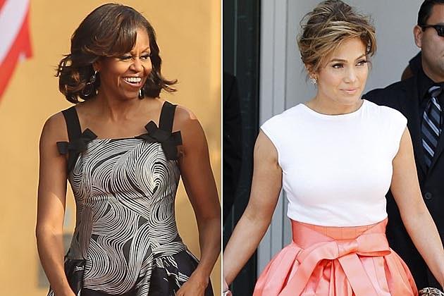 Michelle Obama J Lo