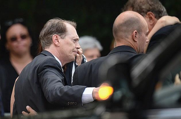 Steve Buscemi James Gandolfini Funeral