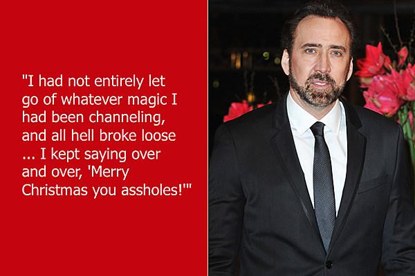 Dumb Celebrity Quotes – Nicolas Cage