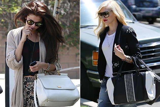Selena Gomez Gwen Stefani Bags