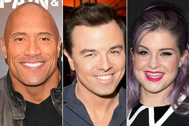 The Rock, Seth MacFarlane and Kelly Osbourne tweeted some of our faves today.