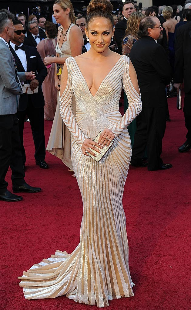 Jennifer Lopez Zuhair Murad Oscars 2012