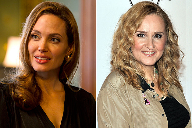 Angelina Jolie, Melissa Etheridge