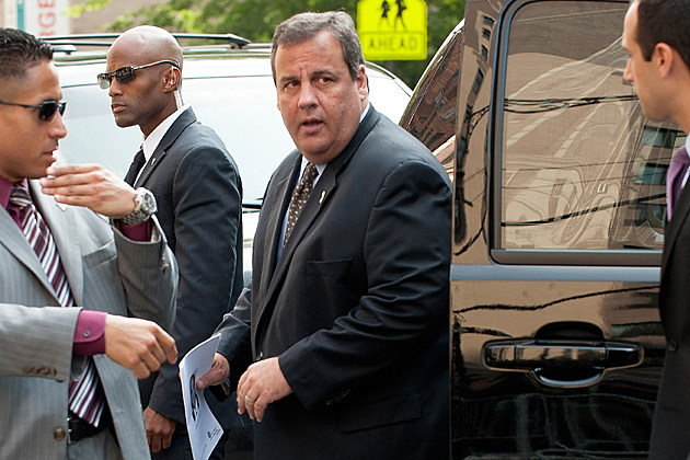 NJ Governor Chris Christie James Gandolfini Funeral
