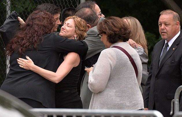 Edie Falco James Gandolfini Funeral