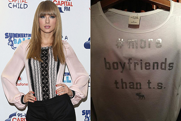 Taylor Swift Abercrombie & Fitch Tee