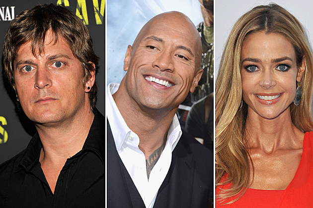 Rob Thomas, Dwayne Johnson, Denise Richards