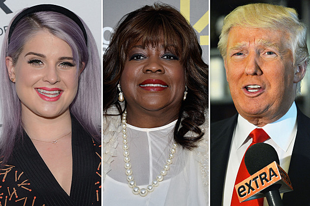 Kelly Osbourne, Chaz Ebert, Donald Trump