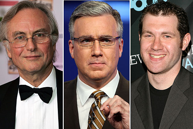 Richard Dawkins, Keith Olbermann, Billy Eichner