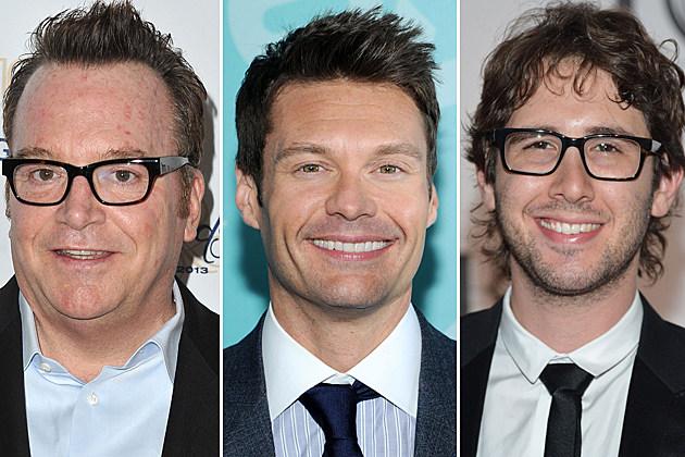 Tom Arnold, Ryan Seacrest, Josh Groban