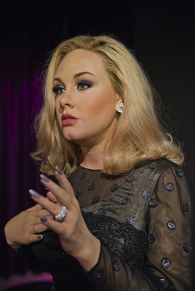 Adele Wax Figure