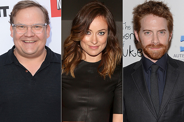 Andy Richter Olivia Wilde Seth Green