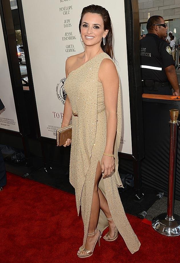 Penelope Cruz Biege Michael Kors