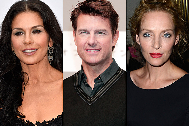 Catherine Zeta-Jones Tom Cruise Uma Thurman