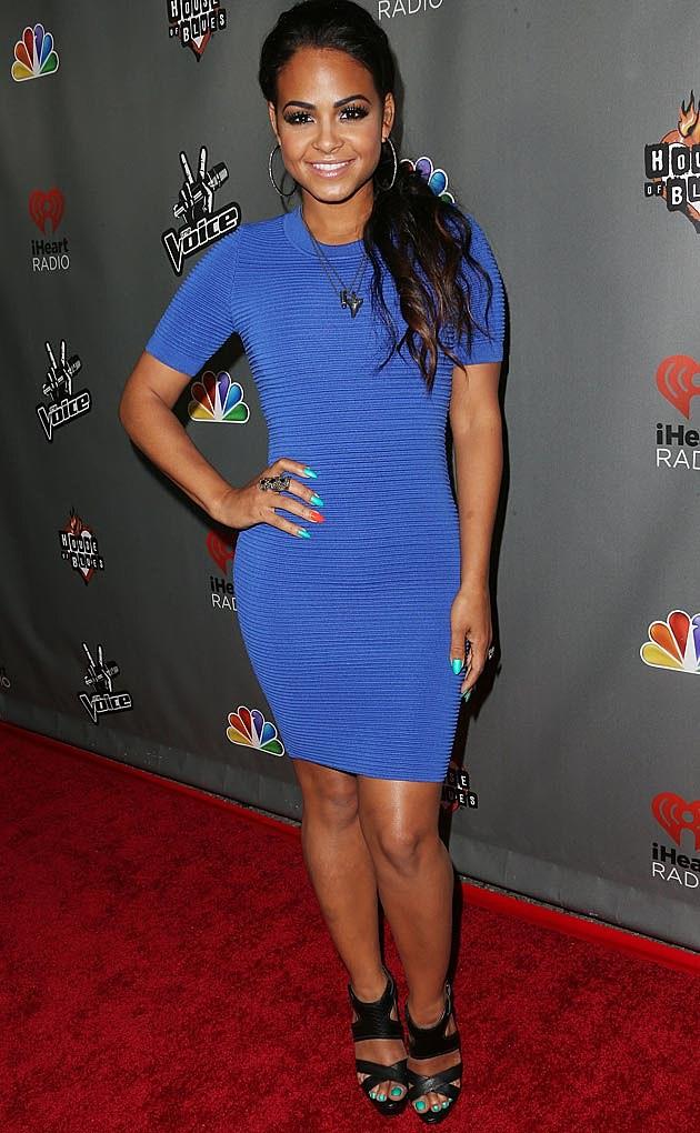 Christina Milian Blue