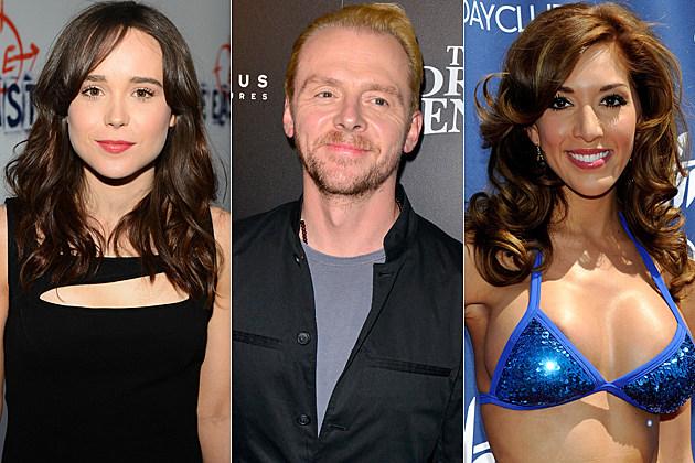 Ellen Page Simon Pegg Farrah Abraham