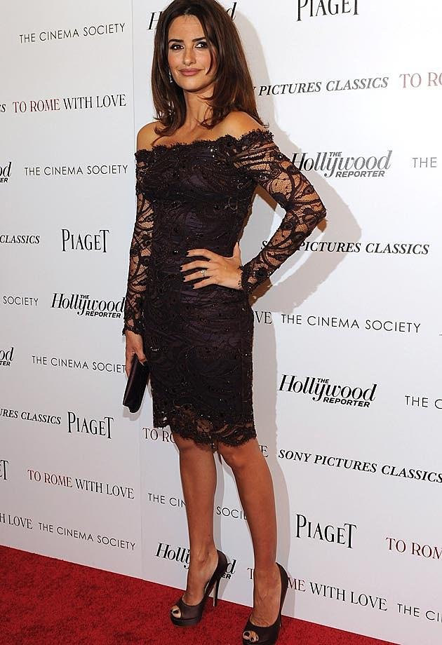 Penelope Cruz Emilio Pucci Lace