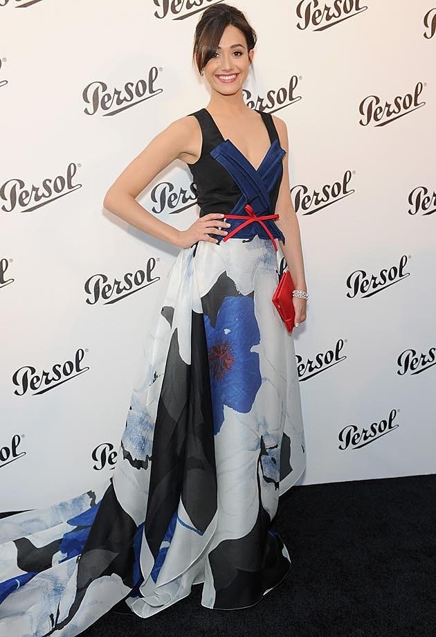 Emmy Rossum Carolina Herrera