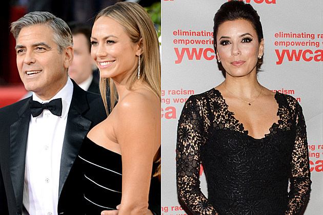 stacy keibler and george clooney still dating