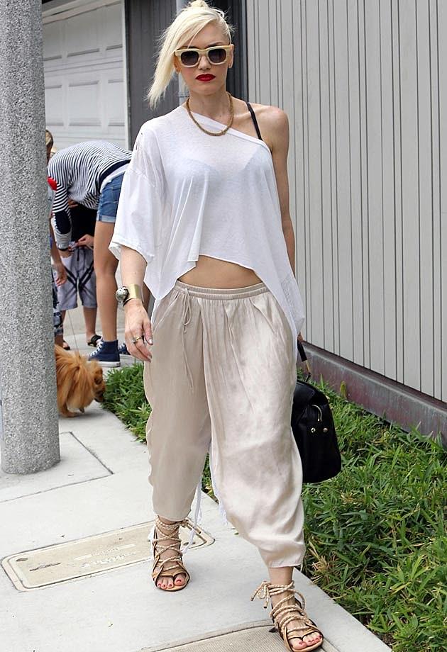 Gwen Stefani White Shirt