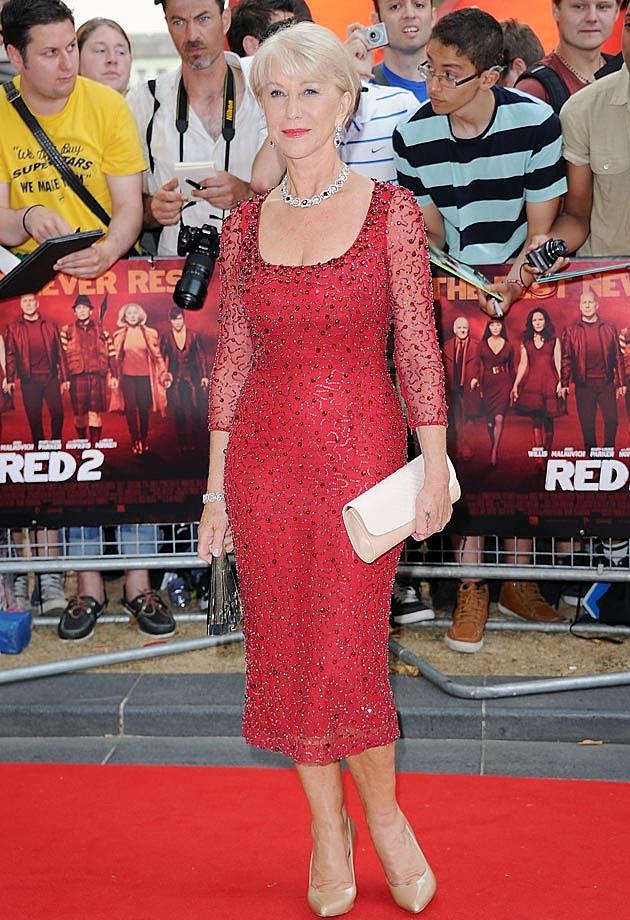 Helen Mirren Jenny Packham