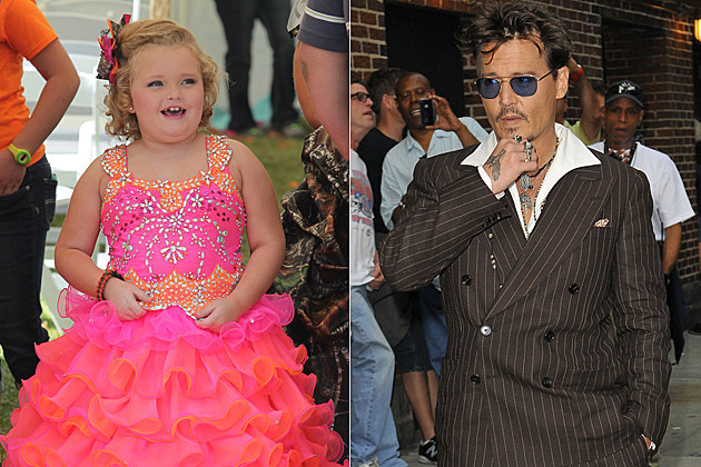 Honey Boo Boo Johnny Depp