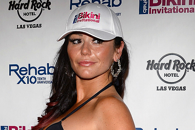 JWoww was hacked about being hacked over the weekend.