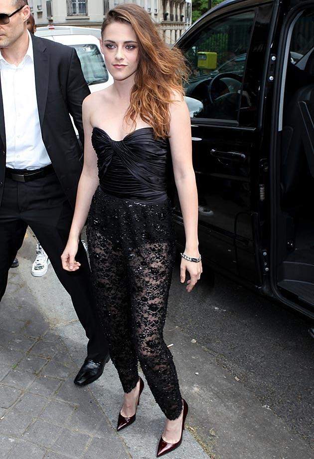 Kristen Stewart Lace Jumpsuit