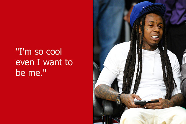 dumb celebrity quotes lil wayne - Lil Wayne Quotes