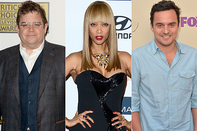 Patton Oswalt Tyra Banks Jake Johnson