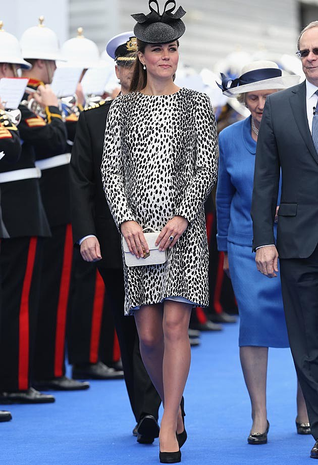 Printed Hobbs Jacket Kate Middleton Pregnancy