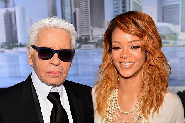 Rihanna Karl Lagerfeld Chanel