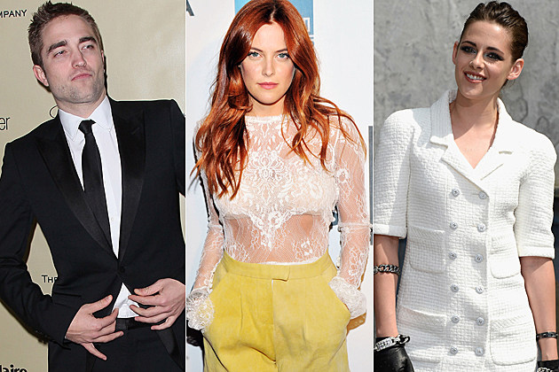 Robert Pattinson Riley Keough Kristen Stewart