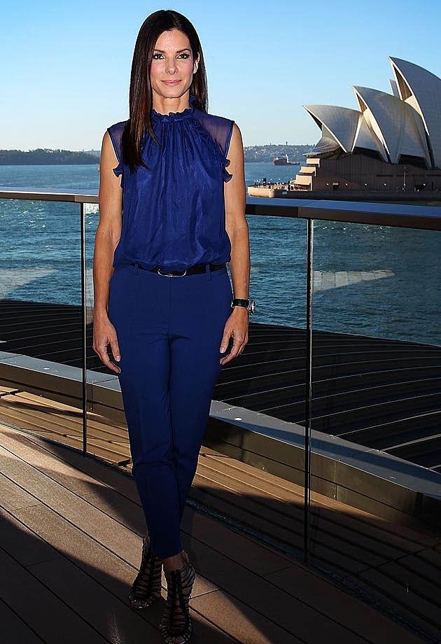 Sandra Bullock Blue