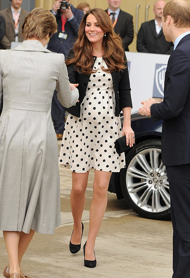 Topshop Dress Ralph Lauren Blazer Kate Middleton Pregnancy