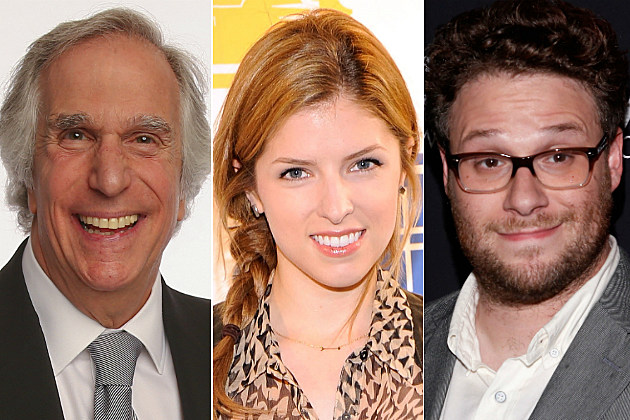 Henry Winkler, Anna Kendrick and Seth Rogen tweeted some of the best stuff today.