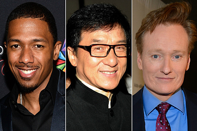 Nick Cannon, Jackie Chan and Conan O'Brien had some of our favorite tweets today.