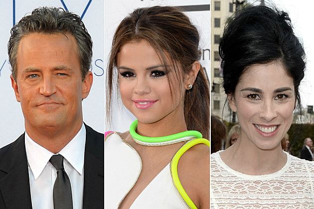 Matthew Perry, Selena Gomez, Sarah Silverman + More In Celebrity Tweets of the Day