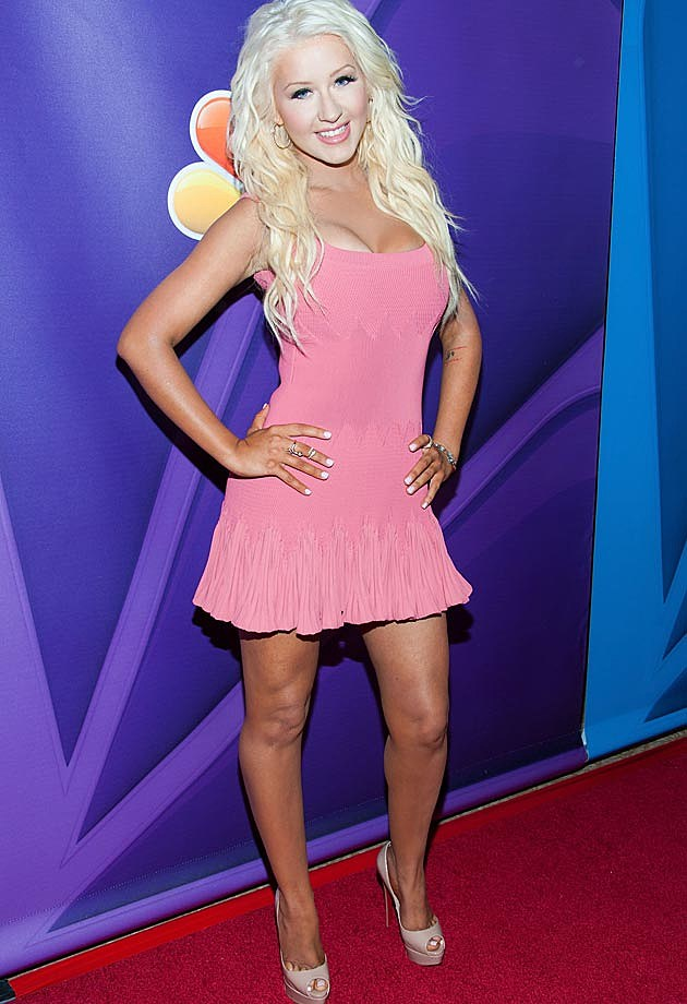 Christina Aguilera Alaia Dress