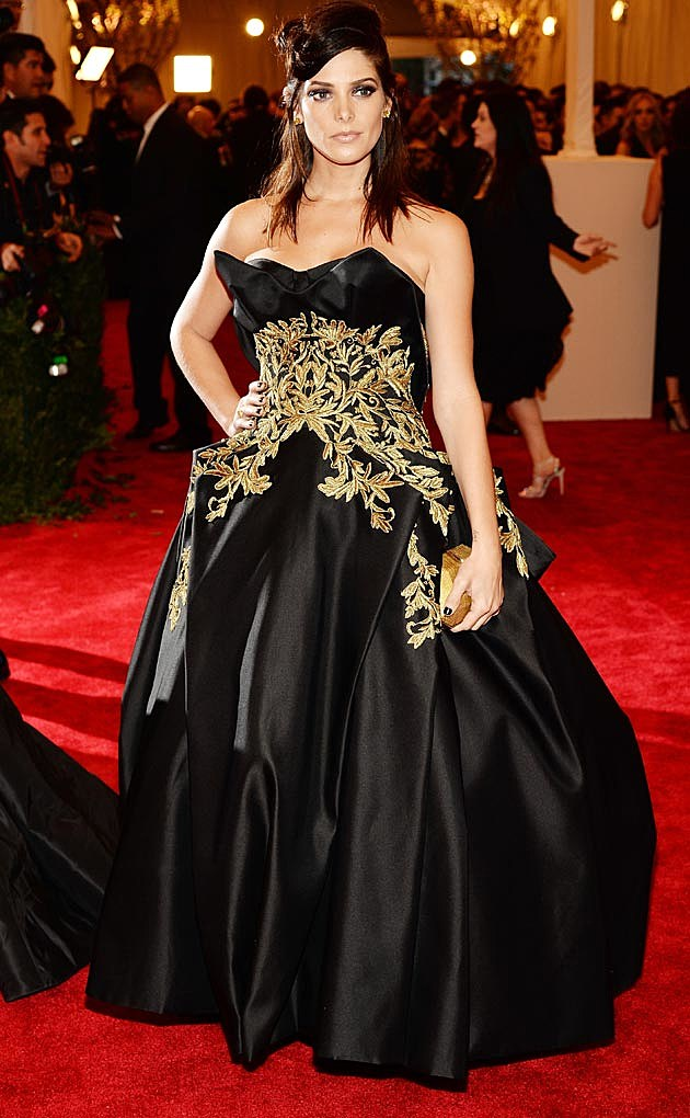 Ashley Greene 2013 Marchesa Met Ball