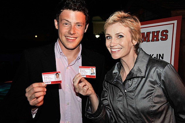Cory Monteith Jane Lynch
