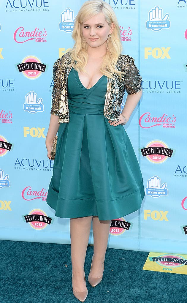 Abigail Breslin 2013 Teen Choice Awards
