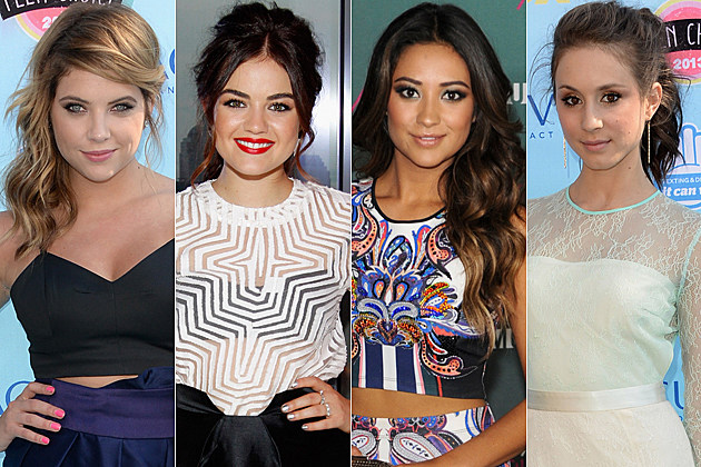 Ashley Benson Lucy Hale Shay Mitchell Troian Bellisario