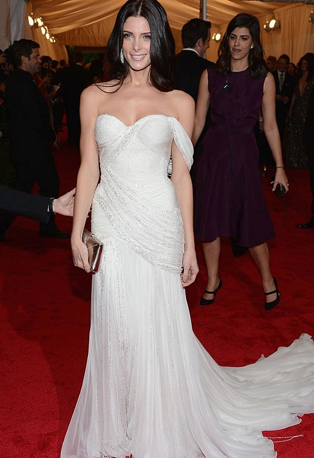 Ashley Greene Donna Karan 2012 Met Ball