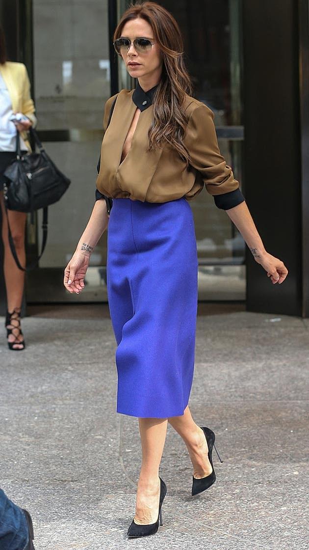 Victoria Beckham Cobalt Blue
