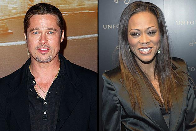 Brad Pitt Robin Givens