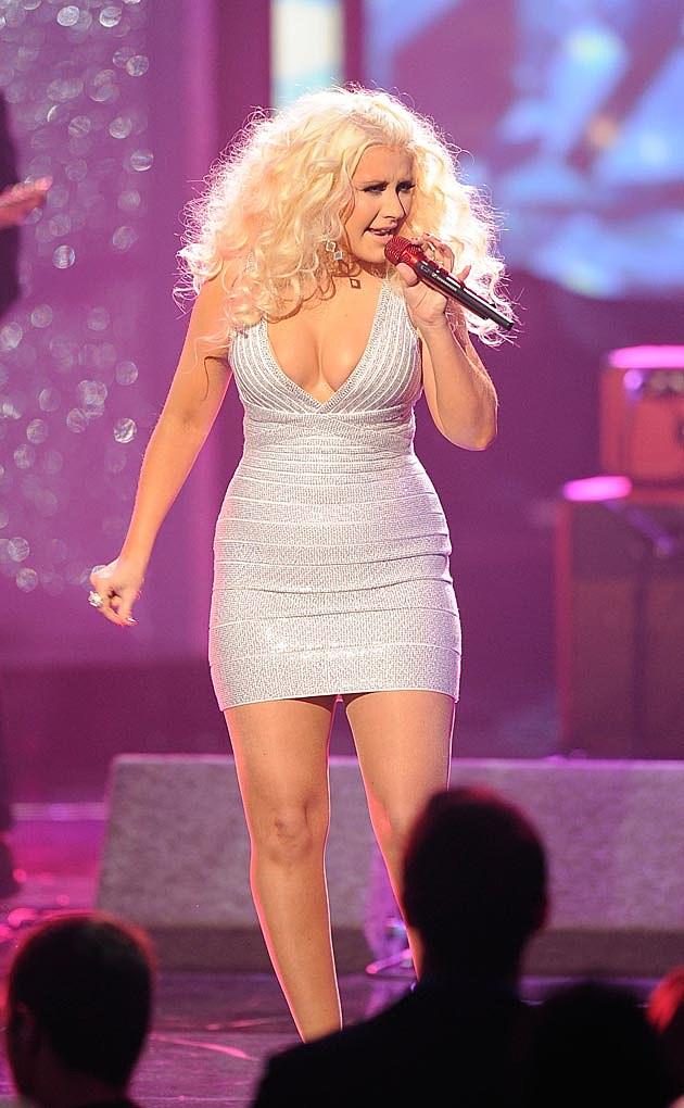 Christina Aguilera Body Con AMAs