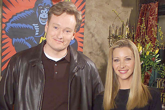 Conan O'Brien Lisa Kudrow