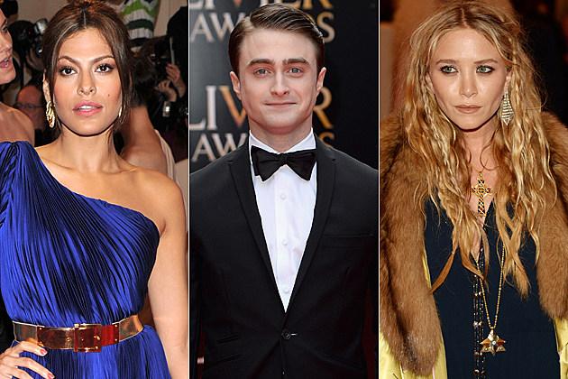Eva Mendes Daniel Radcliffe Mary-Kate Olsen
